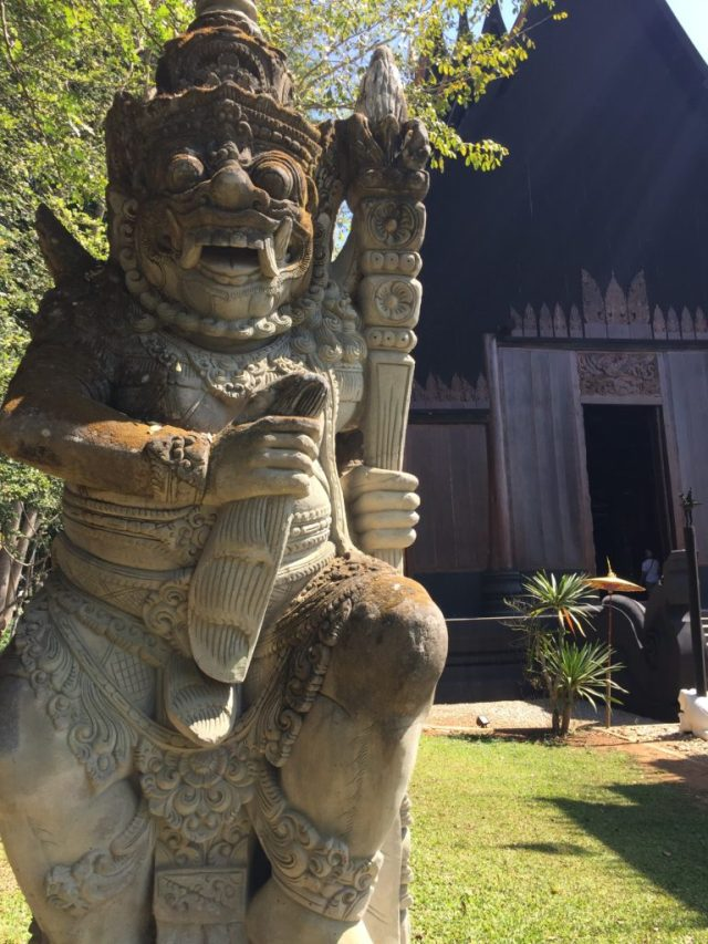 black-house-statue-chiang-rai