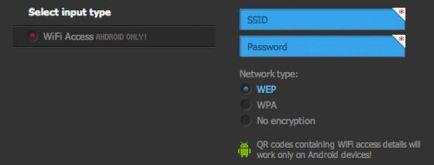 código qr con clave wi-fi