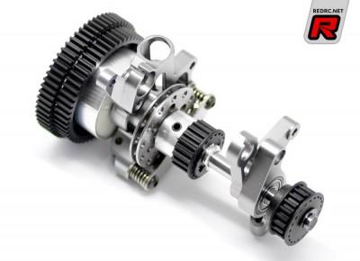 Serpent 733 SL6 gearbox