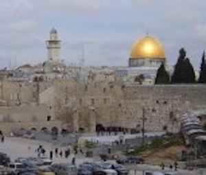 The Western Wall, near Al-Aqsa Mosque, Jerusalem