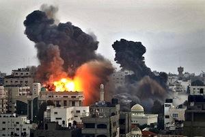 Gaza under attack 19 November 2012