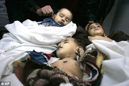 Palestinian children killed by Israel