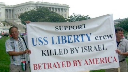 USS Liberty protest