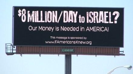 US funding of Israel