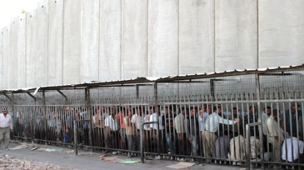 Apartheid Wall and Cages