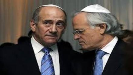 Ehud Olmert and Martin Indyk