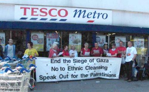 Tesco Boycott Israel
