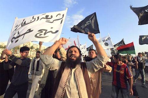 Al-Qaeda supporters in Benghazi