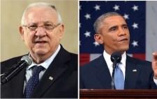 Reuben Riven and Barak Obama