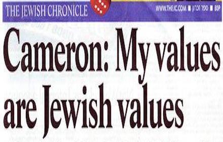 David Cameron Friend of Israel