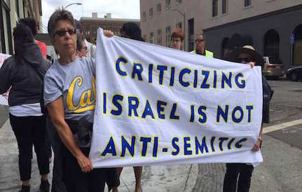 Criticising Israel is not anti-Semitism
