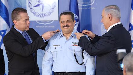 Roni Alsheikh with Netanyahu