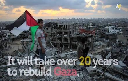 Israel's destruction of Gaza