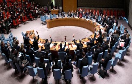 UN Security Council condemns Israeli colonies
