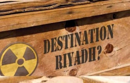 Nuclear destination Riyadh