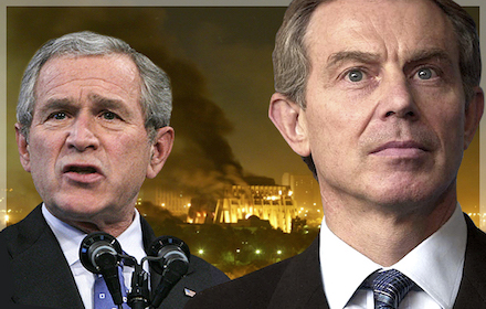 Bush, Blair and Iraq