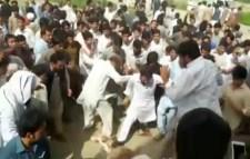 Pakistani mob beat Mashal Khan