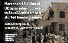 UK arms sales to Saudi Arabia kill Yemenis