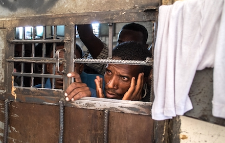 Ethiopian prisoners