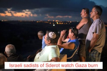 The sadists of Sderot