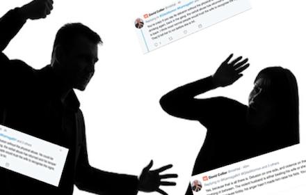 Gilad-Collier tweet exchange