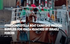 Gaza Flotilla Boat 2018