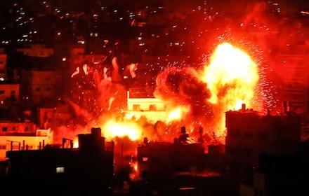 Israeli bombing of Gaza