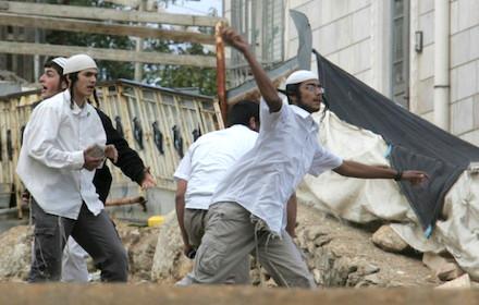 Jewish settler terrorism in Hebron