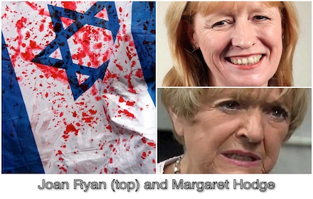 Joan Ryan and Margaret Hodge – UK Labour's Israel stooges