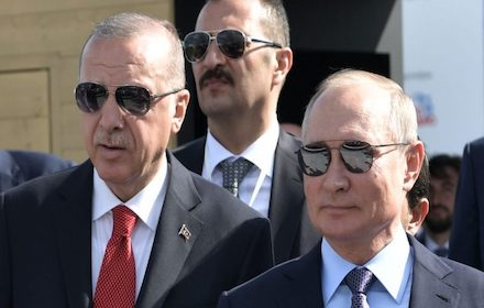 Turkish President Erdogan and his Russian counterpart Putin