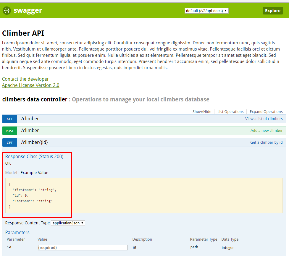Add some swagger to your SpringBoot API
