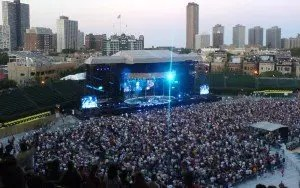 The Police in concert at Wrigley Field Source: www.chibarproject.cpm