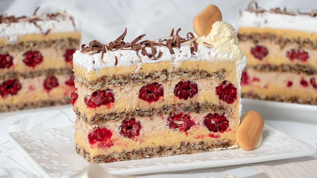 Recepie How To Make Cake With Chocolate, Plazma Biscuits And Raspberries – 2021 Guide
