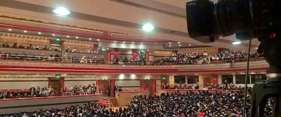 Live Streaming Graduation