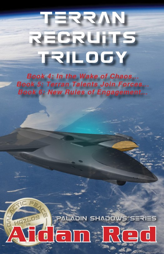 Book Cover: Terran Recruits Trilogy