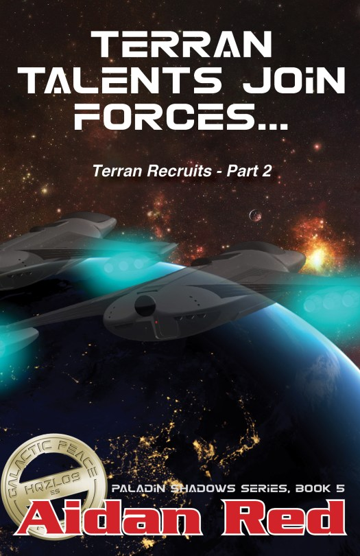 Book Cover: Terran Recruits Part 2