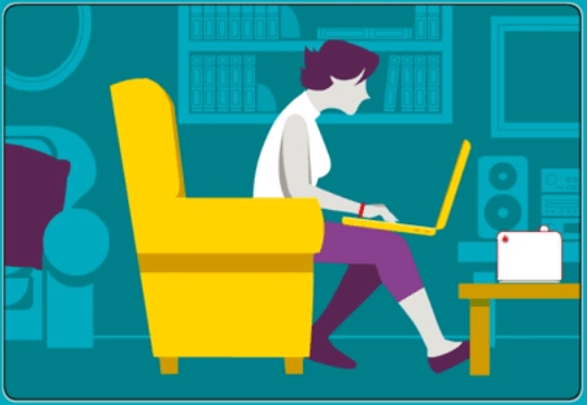 How to Sit In Correct Posture While Using Laptop To Avoid Back Pain Or Injury