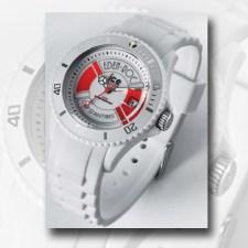 """STYLISCH Seit über 140 Jahren verzaubert das """"Hotel du Cap-Eden- Roc"""" mit seiner Schönheit und Exklusivität seine Gäste. Nun hat das Luxus- Haus in Kooperation mit der Trendmarke """"Ice Watch"""" eine coole Uhr kreiert. Den limitierten Zeitmesser gibt es in den Farben Rot und Weiß, passend zum maritimen Flair des Hauses. www.hotel-du-cap-eden-roc.com"""