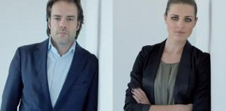 Carola Bopp, Make-up Artist und beast-Leitung, und Mattias Mußler, Mußler Beauty Group