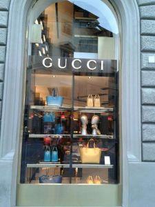 Die Luxusmarke ist in Florenz omnipräsent