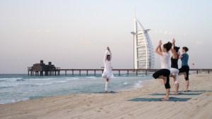 Jumeirah Dubai _yoga_on_the_beach_low