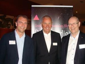 Christian Lorenz, Horst-Dieter Hartig und Ulrich Schwarze bündeln die Kräfte von beauty alliance und TopCos