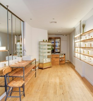 Wenn ein interessanter Store öffnet, ist Ulrich Lang vor Ort. 2014 stellte er Bottega Organica vor, dem ein Ristorante angeschlossen ist