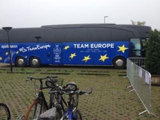 Das europäische Team ist da!