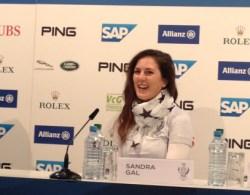 Sandra Gal is ready! Sie freut sich auf ihren Einsatz, zum ersten Mal in Ihrer deutschen Heimat