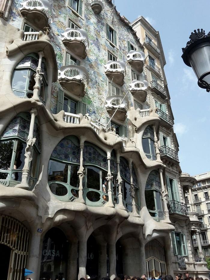 Sightseeing darf in Barcelona natürlich auch nicht fehlen