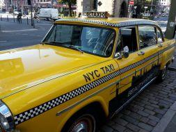 Ein bisschen New-York-Flair auf den Straßen Frankfurts