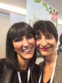 Wiedersehen mit der Les Nouvelles Esthétiques Spa - Congrès d'Esthétique & Spa Chefredakteurin Laure Jeandemange.