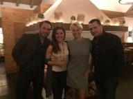 Sascha Bostan mit den Vertreterm des Hotel Wellness ProVita: Jolanta Sokolowska, Agnieszka Trafas und Adam Hok (v.l.) — mit Sascha Bostan – hier: A-Rosa Resorts & Hideaways.