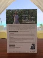Jeden Monat wird im Spa ein Highlight angeboten. Zur Zeit ist David Zenon im Resort.